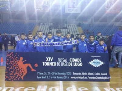 Un ano mais a EDC.Celanova participou na XIV Torneo Cidade de Lugo de futsal, considerado como o mellor de España de equipos de base.