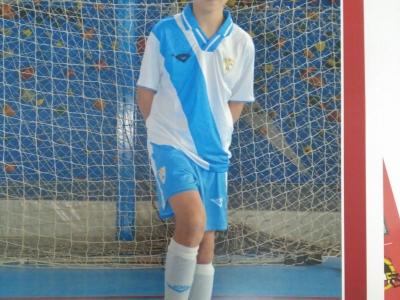 Mauro Dorado da EDC.Celanova remata a sua participación coa selección galega no campeonato de España de fútsal.