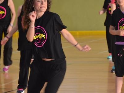 Hoy a partir de las 20:00 masterclase de Pilates e Aerobic a cargo de Sara e Juanjo no pavillon das Triguerizas.