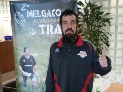 Fernando Alvarez 3ºno trail en Melgaço.