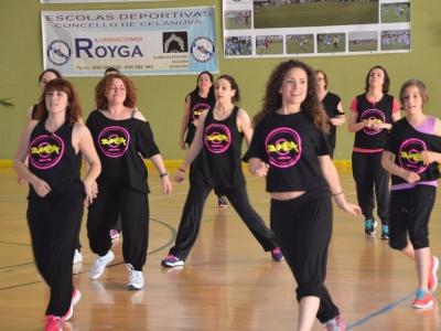Todos invitados a Master class de Zumba e Pilates nas Triguerizas